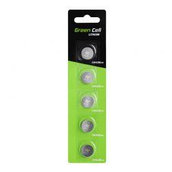 Σετ Μπαταρίες Λιθίου CR1620 3 V 70 mAh 5 τμχ Green Cell XCR03