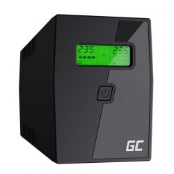 UPS με 2 Schuko Πρίζες 600 VA 360 W Green Cell UPS01LCD