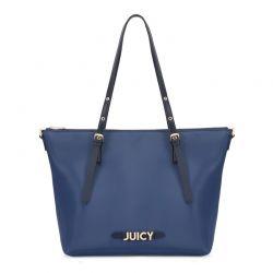 Γυναικεία Τσάντα Χειρός Χρώματος Navy Juicy Couture 349 673JCT1240