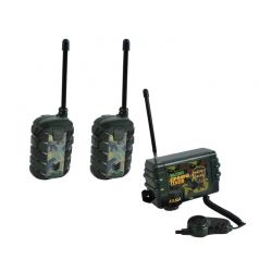 Σετ Παιδικοί Ασύρματοι Πομποδέκτες - Eνδοεπικοινωνία Walkie Talkie με Κεντρική Μονάδα Ελέγχου 3 τμχ SPM 6499