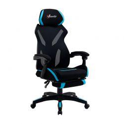 Καρέκλα Gaming με Υποπόδιο 65 x 65 x 119-129 cm Vinsetto 921-516BU