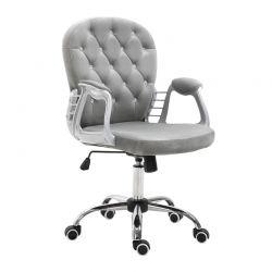 Καρέκλα Γραφείου 59.5 x 60.5 x 95-105 cm Vinsetto 921-169V70GY