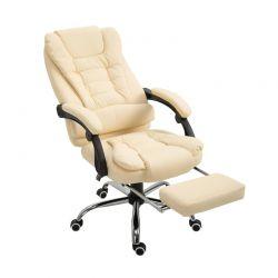 Καρέκλα Γραφείου με Υποπόδιο 64.5 x 69 x 117-127 cm HOMCOM 921-082CW