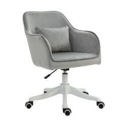 Καρέκλα Γραφείου με Μαξιλάρι Μασάζ 55 x 65 x 79-89 cm Vinsetto 921-298V70GY