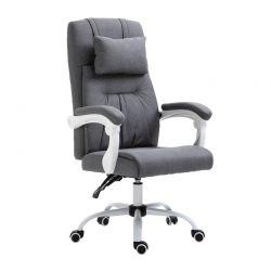 Καρέκλα Γραφείου με Μαξιλάρι Μασάζ 64 x 63 x 113-121 cm Vinsetto 921-194V70GY