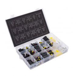 Σετ Μονωμένοι Σύνδεσμοι Καλωδίων 1-6 Ακίδων 424 τμχ Kraft&Dele KD-10494