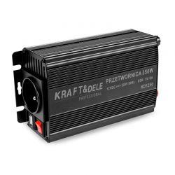 Μετατροπέας Αυτοκινήτου 350 W 12 / 24 - 230 V Kraft&Dele KD-1250