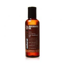 Λάδι Macadamia Ultra Nourishing Hair Treatment Natural World 100ml
