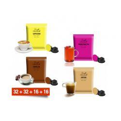 Κάψουλες Bernini Caffe σε combo 4 ροφημάτων