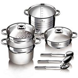 Σετ μαγειρικών σκεύων Blaumann 8τμχ BL-3138