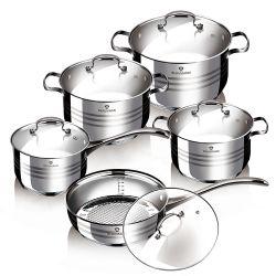 Σετ μαγειρικών σκευών Blaumann 12 τμχ BL-3163