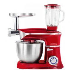 Κουζινομηχανή 3 σε 1 Royalty Line χρώματος κόκκινο RL-PKM1900.7BG