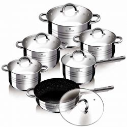 Σετ μαγειρικών σκευών Blaumann 12τμχ BL-3151