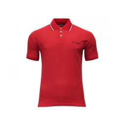 Polo κόκκινο Pierre cardin με ρίγα 01-15-02 Red