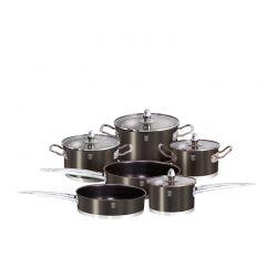 Σετ μαγειρικών σκευών Berlinger Haus 10 τμχ. χρώματος μαύρο BH-1322