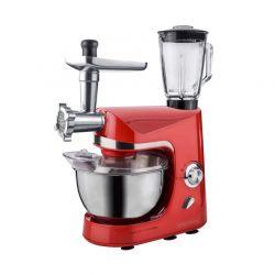 Κουζινομηχανή 3 σε 1 Royalty Line 1800 W Χρώματος Κόκκινο RL-PKM1800BG