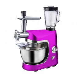 Kουζινομηχανή 3 σε 1 Royalty Line 1800 W Χρώματος Ροζ RL-PKM1800BG
