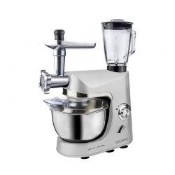 Κουζινομηχανή 3 σε 1 Royalty Line 1800 W Χρώματος Γκρι RL-PKM1800BG