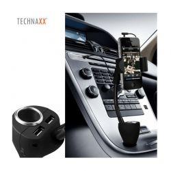 Universal Βάση και Φορτιστής Αυτοκινήτου Technaxx TE06