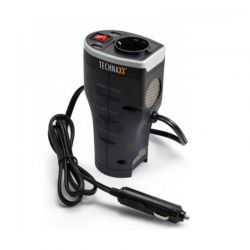 Car Power Inverter Technaxx with 2 USB Ports TE13