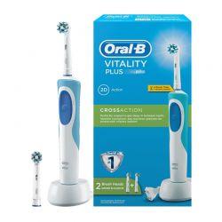 Ηλεκτρική οδοντόβουρτσα Oral-B vitality με 2 κεφαλές OralB-2D Cross Action