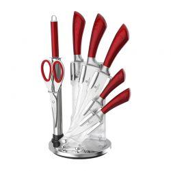 Σετ μαχαιριών Berlinger Haus 8 τμχ με βάση red BH-ST8R