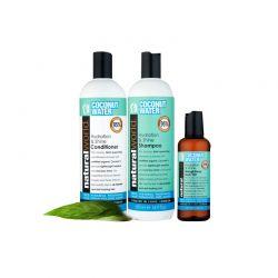 Σετ 3 προϊόντα coconut water Natural World