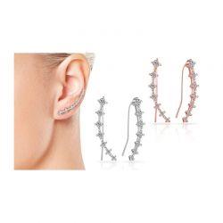 Σκουλαρίκια Philip Jones με Κρύσταλλα Swarovski®