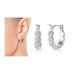 Σκουλαρίκια Philip Jones Σχέδια Μαργαρίτες
