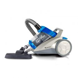 Ηλεκτρική σκούπα Turbotronic χωρίς σακούλα με τεχνολογία Cyclone χρώματος μπλε TT-CV04