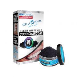 Σκόνη λεύκανσης δοντιών Stella White Coco Charcoal SW-CHW