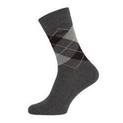 Κάλτσες Business (5 ζευγάρια) Versace 1969 Χρώματος Σκούρο Γκρι C170