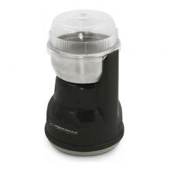 Ηλεκτρικός Μύλος Άλεσης Καφέ και Μπαχαρικών Χρώματος Μαύρο Lugo Esperanza EKC-002