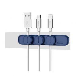 Μαγνητική Βάση Στήριξης Καλωδίων Baseus Χρώμα Μπλε R143102