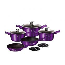 Σετ Μαγειρικών Σκευών Berlinger Haus 10 τμχ Royal Purple Edition BH-1661N