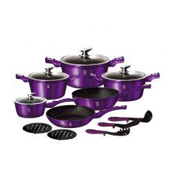 Σετ μαγειρικών σκευών Berlinger Haus 15 τμχ Royal Purple Edition BH-1662N