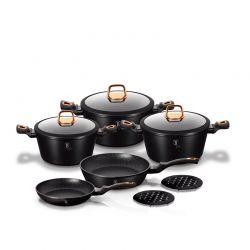Σετ μαγειρικών σκευών Berlinger Haus Black Rose 10 τμχ. BH-1645N