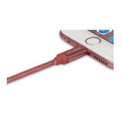 Καλώδιο USB to Lightning 1m Χρώματος Ροζ-Χρυσό για Συσκευές Apple R140561