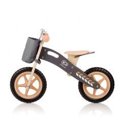 Παιδικό Ξύλινο Ποδήλατο Ισορροπίας με Αξεσουάρ KinderKraft Runner Nature