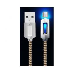 Καλώδιο USB to Micro USB 1m με Φως Led για Συσκευές Android SPM R142001