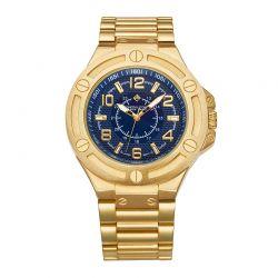 Ανδρικό Ρολόι Χρώματος Χρυσό με Μεταλλικό Μπρασελέ Timothy Stone M-016-ALGD