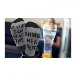 Unisex Ζεστές Κάλτσες Σπιτιού με Μήνυμα SPM SOCKSBEER