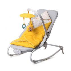Παιδικό Ρηλάξ 2 σε 1 Χρώματος Κίτρινο KinderKraft Felio