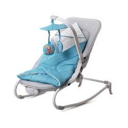 Παιδικό Ρηλάξ 2 σε 1 Χρώματος Μπλε KinderKraft Felio