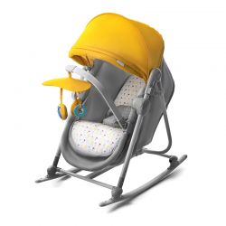 Παιδικό Ρηλάξ 5 σε 1 Χρώματος Κίτρινο KinderKraft Unimo