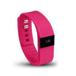 Ρολόι Fitness Tracker Aquarius με Bluetooth Χρώματος Ροζ R123813