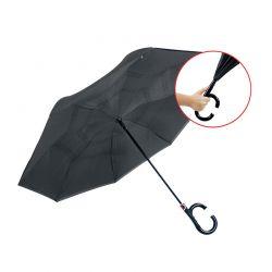 Αυτόματη Ομπρέλα Βροχής Χρώματος Μαύρο REVERUMBRAUTO