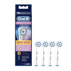 Ανταλλακτικά Βουρτσάκια Oral-B Sensi Ultrathin για Οδοντόβουρτσες 4 τμχ