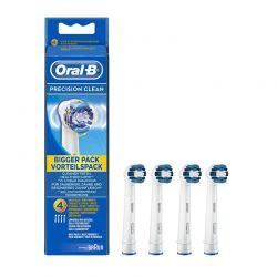 Ανταλλακτικά Βουρτσάκια Oral-b Precision Clean για Οδοντόβουρτσες 4 τμχ OLB-PRC-HDS