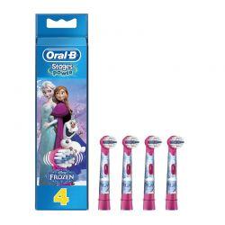 Ανταλλακτικά Βουρτσάκια για Οδοντόβουρτσες Oral-B Power Frozen 4 τμχ OLB-FRZ-HDS